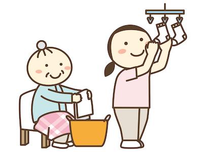 介護現場洗濯